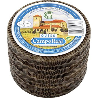 Campo Real Queso castellano curado peso aproximado pieza 1 kg