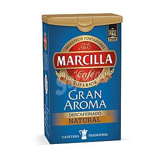 Marcilla Cafe molido descafeinado natural gran aroma Paquete 200 g