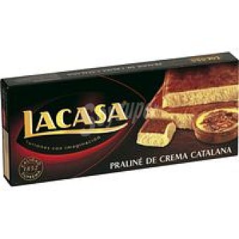 Lacasa Turrón de crema catalana Caja 225 g