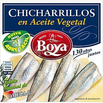 Boya Chicharrillo en aceite vegetal Lata 270 gr