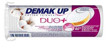 Demak'Up Discos desmaquillantes de algodón redondos expert Paquete 70 u
