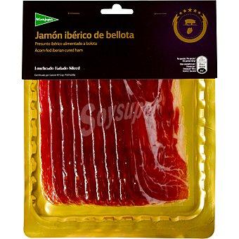 El Corte Inglés Jamón de bellota ibérico en lonchas Envase 100 g