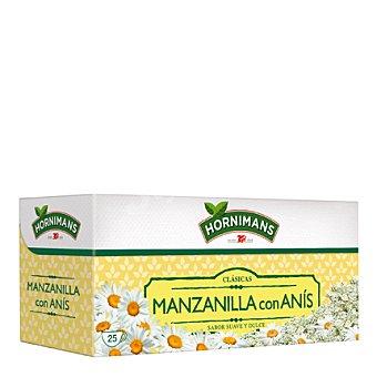 Hornimans Manzanilla con anís Caja 25 sobres