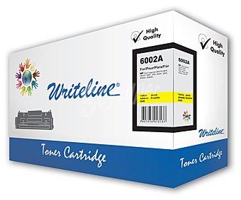 WRITELINE Toner compatible 124A Q6002A, Amarillo, aprox. 2000 paginas, compatible con impresoras HP: Color laserjet CM1015 mfp, CM1017 mfp, 1600, 2600n, 2605, 2605dn, 2605dtn.