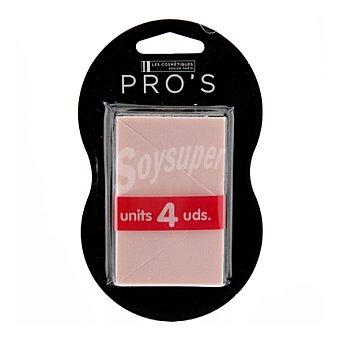 Pro's Les Cosmétiques Esponja maquillaje triangular x 4 4 ud
