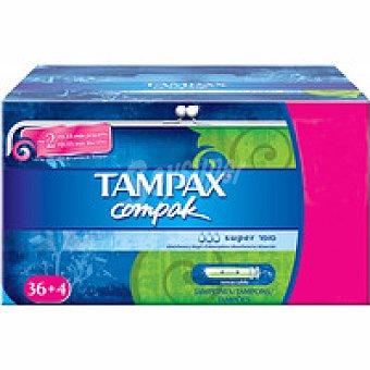 Tampax Tampón super 40u
