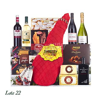 Lote de Navidad nº 22 Caja Decorada