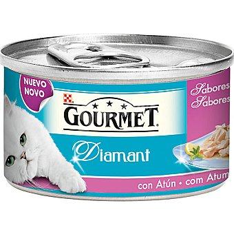 Gourmet Purina Comida para gatos Diamant Sabores del océano con atún para gato  Lata de 85 g