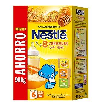 Nestlé Papillas 8 cereales con miel Paquete 900 gr