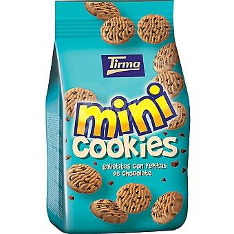 TIRMA Mini Cookies Galletitas con pepitas de chocolate bolsa 100 g Bolsa 100 g