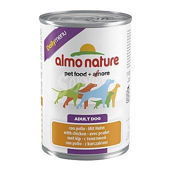 ALMO NATURE Daily Comida húmeda para perros adultos pequeños, medianos y grandes Almo Nature Daily Menu pollo 400 gr