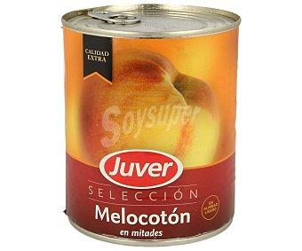 Juver Melocotón en mitades en almíbar ligero 480 gramos