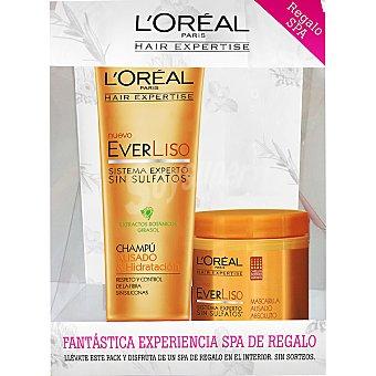 Expertise L'Oréal Paris Champú everliso Alisado & Hidratación + mascarilla everliso