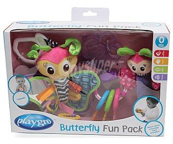 Playgro Set de juguetes para bebé, sonajero, mordedor