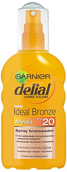 Delial Garnier Spray Solar Ideal Bronze F-20 Delial 200 ml