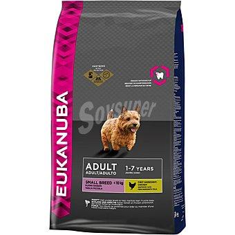 EUKANUBA ADULT SMALL BREED Alimento completo para perro adulto de razas pequeñas con pollo bolsa bolsa 75 kg Bolsa 75 kg