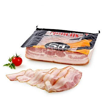 Monells Bacon ahumado natural al corte 150 g aprox