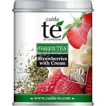 Cuida Té Té verde fresas con nata 100 g