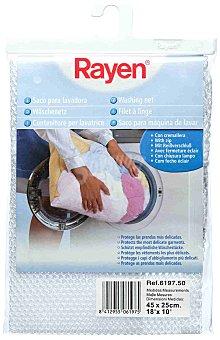 Rayen Bolsa para lavadora con cremallera 45X25 cm protege las prendas más delicadas Paquete 1 unidad