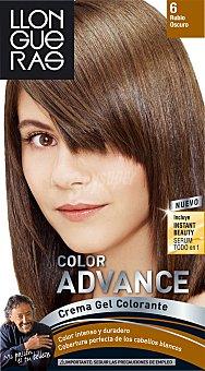 Llongueras - Advance Coloración permanente 6 Rubio Oscuro 1 ud