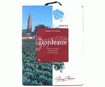 Pierre Chanau Vino Tinto Burdeaux 5 Litros