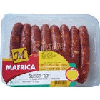 Mafrica Salchicha adobada Peso aproximado