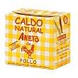 Caldo natural de pollo 500 ml Aneto