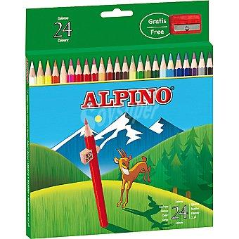 Alpino Ápices de colores Estuche con 24 l