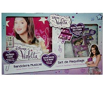 DISNEY Pack Bolso Bandolera Musical más Maquillaje Violetta 1 Unidad