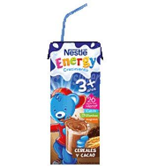 Nestlé Leche crecimiento 3 con cereales y cacao energy Pack de 3x200 ml
