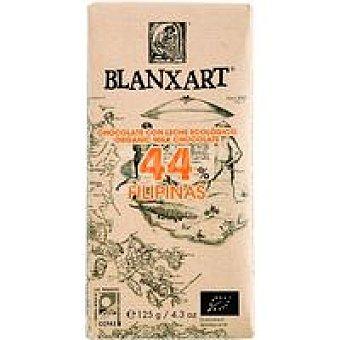 BLANXART Chocolate con leche 44% Filipinas ecológico 1 u