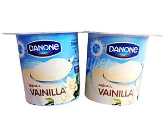 Danone Yogur sabor Vainilla 4 Unidades de 125 Gramos
