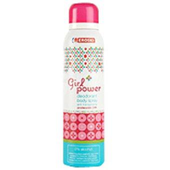 Eroski Desodorante Girl Power Spray 150 ml