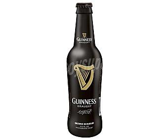 Guinness Cerveza negra irlandesa Draught Botellín 33 cl