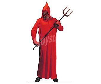 WIDMANN Disfraz infantil Diablo túnica roja, talla 11-13 años Diablo 11-13 años