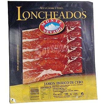 MONTE NEVADO jamón ibérico de cebo en lonchas sobre 100 g