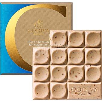 GODIVA Chocolate blanco con leche y caramelo tableta 75 g tableta 75 g