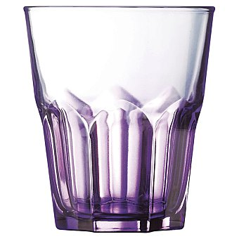 LUMINARC Vaso en color morado 30 cl