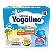 Postre lácteo de frutas variadas a partir de 8 meses iogolino de Nestlé 4 x 100 g Yogolino Nestlé