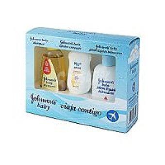 Johnson's Baby Kit viaje miniatura jabón-champú-colonia Pack 1 unid