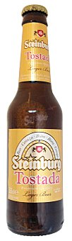 Steinburg Cerveza tostada Botellin 330 cc