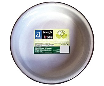 A FUEGO LENTO Cazuela redonda de 32 centímetros y fabricada en cerámica / barro 1 Unidad