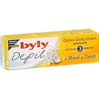 BYLY DEPIL Crema depilatoria suavizante al Monoï de Tahití Tubo 100 ml
