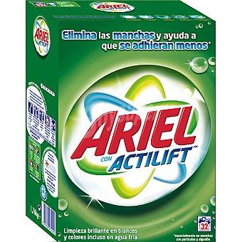 Ariel Detergente en polvo Maleta 32 cacitos