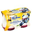 Yogur con arándanos pack 2x125 g La Lechera Nestlé
