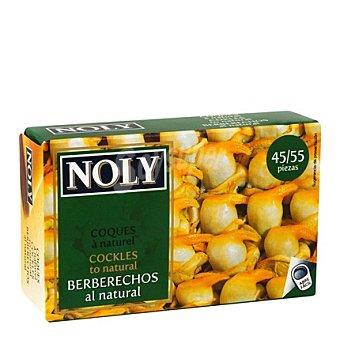 Noly Berberechos de Holanda al natural 45-55 piezas Lata 58 g (peso neto escurrido)