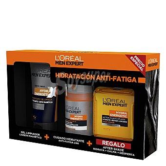 L'Oréal Men Expert Pack hidratación anti-fatiga masculino Hydra Energetic 1 ud