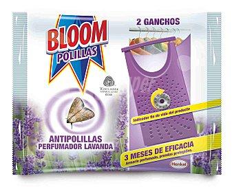Bloom Ganchos Bloom Antipolillas Lavanda 2 ud