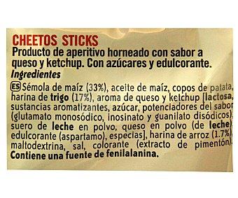 Cheetos Matutano Sticks - Producto de aperitivo horneado con sabor a queso 96 g