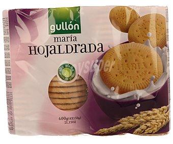 Gullón Galletas maría hojaldrada Pack 4x150 g